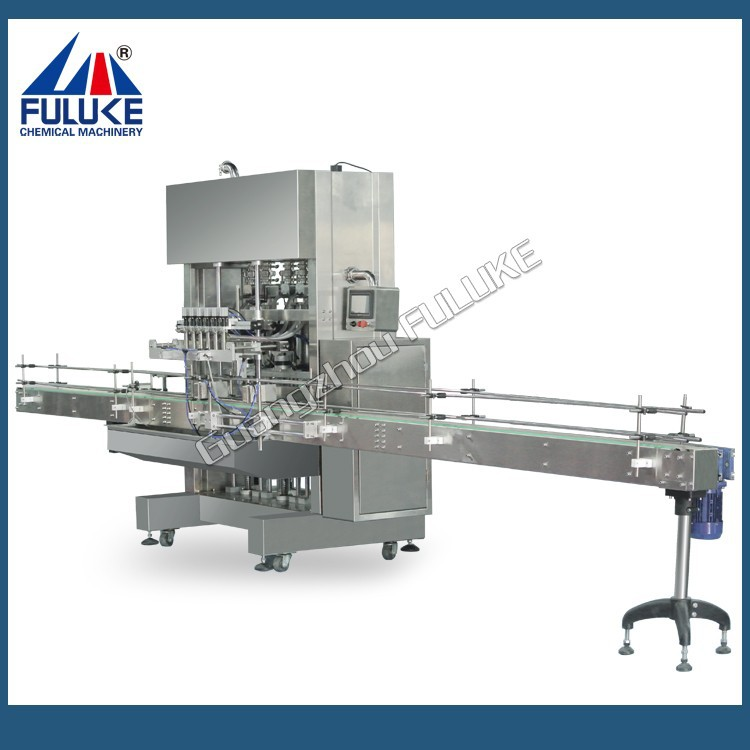 FLK automatic sustainless steel bottling rinsing filling and capping machine applied in cosmetic and food products