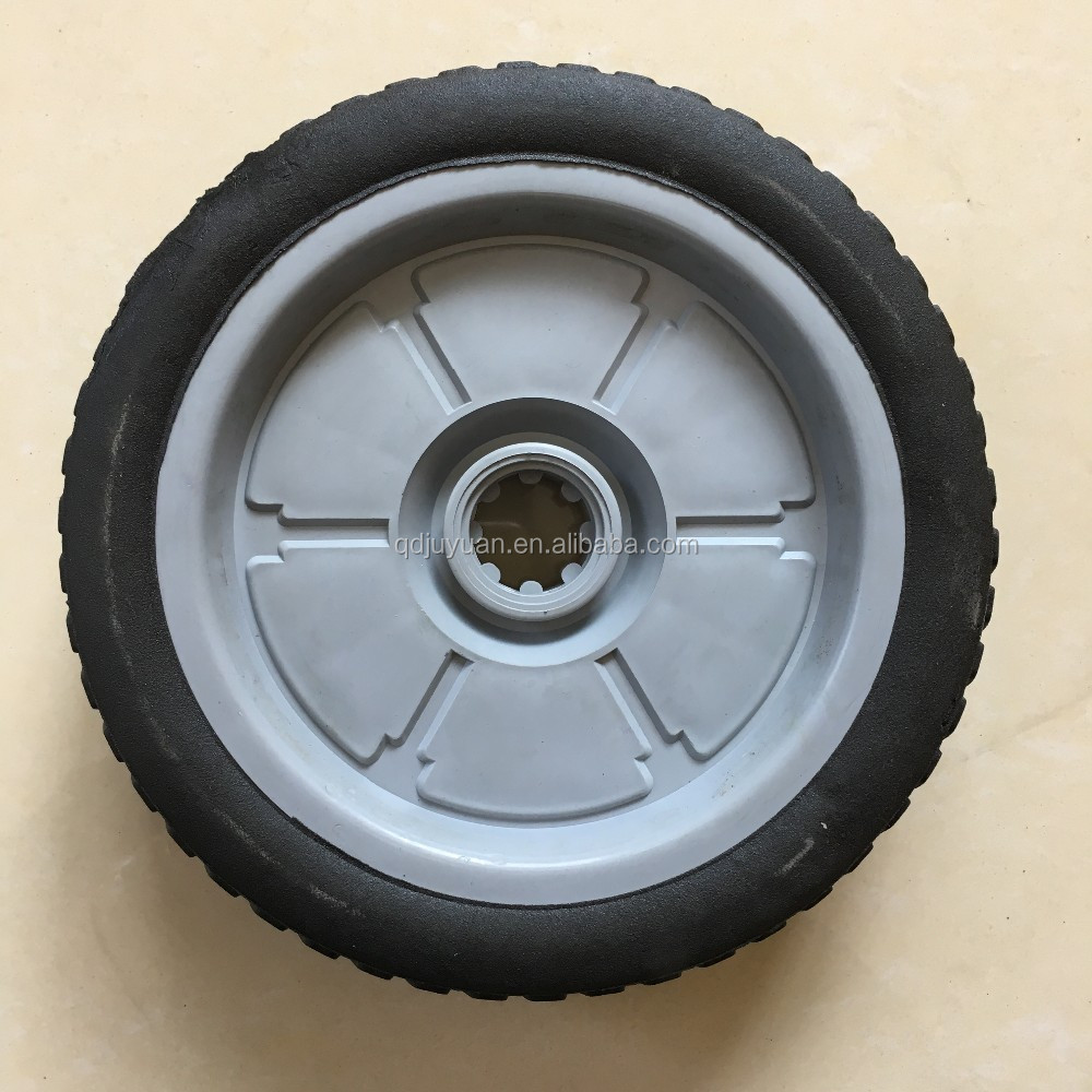 High quality hot sale rubber solid toy car wheels for sale