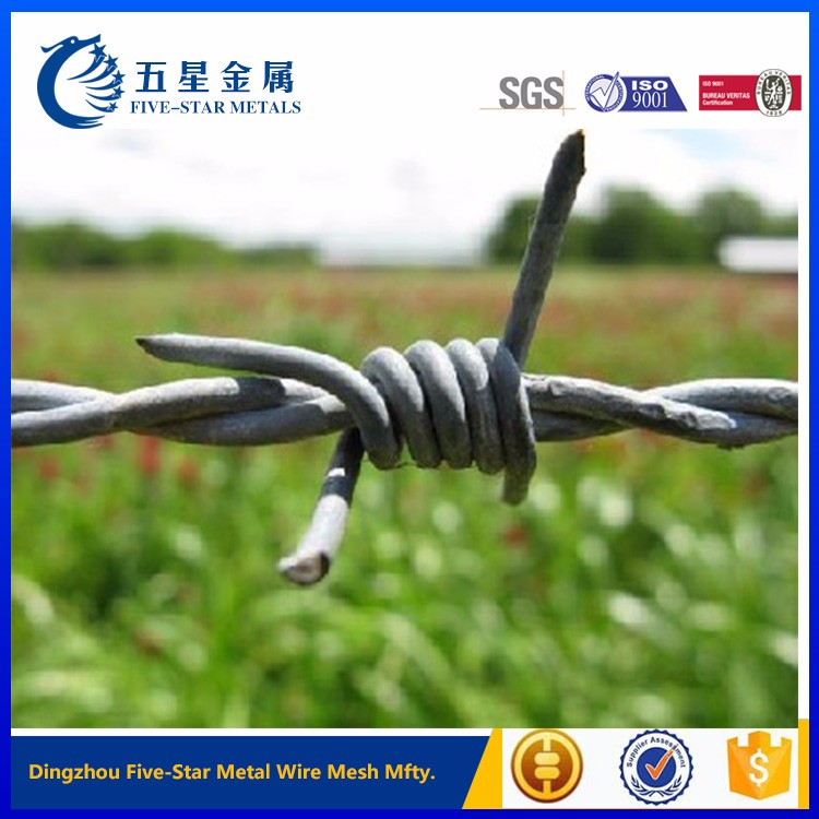 2016 cheap weight barbed wire for hot sale