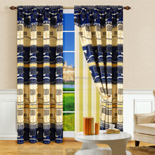 Double layer fancy window curtain Jacquard curtain of shade