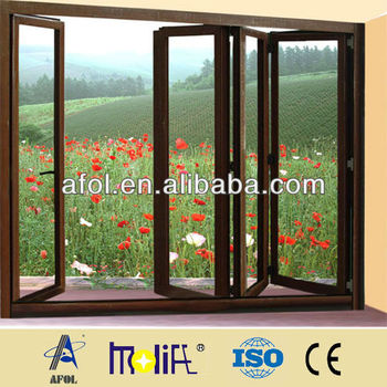 Hot Sale Aluminum Folding Glass Windows