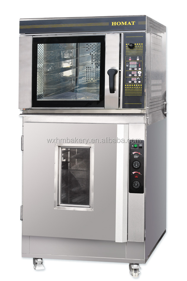 Convection oven with proofer