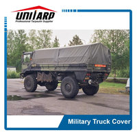 Waterproof military truck trailer cover and military steering wheel covers