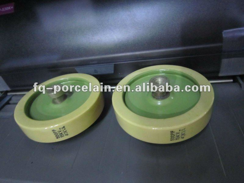 (2012 Hot Products!!!) CCG81 Ceramic Disc Capacitor With Screw Or Leg Leads For Electronic Tank Circuit Applications