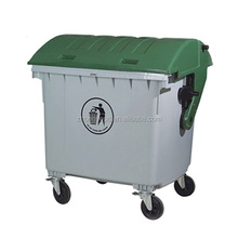 1200L dustbin HDPE plastic industrial bin waste bin outdoor dustbin
