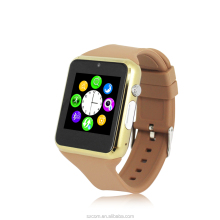 Smart Watch Android Wear Wrist Bluetooth 3.0 Watch with Sim Card Slot 1.3M Camera FM Radio MP3 MP4