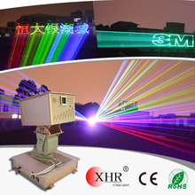 Advertising effects 10w rgb laser projectors outdoor rgb animation laser lights