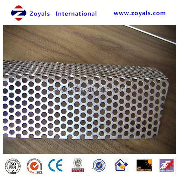 hot-selling low price aluminum perforate weave style honeycomb mesh (ISO9001 factory)