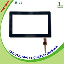 4 wire resistive touch screen 7 inch capacitive screen panel