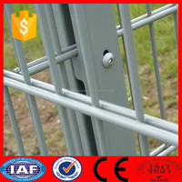 hot dipped galvanized welded wire mesh double wire fence
