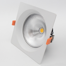 CE RoHS 10 inch epistar cob 30w recessed square led downlight