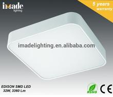 Hot sales LED ceiling mounted light anti-glare Aluminum SMD LED PC diffuser