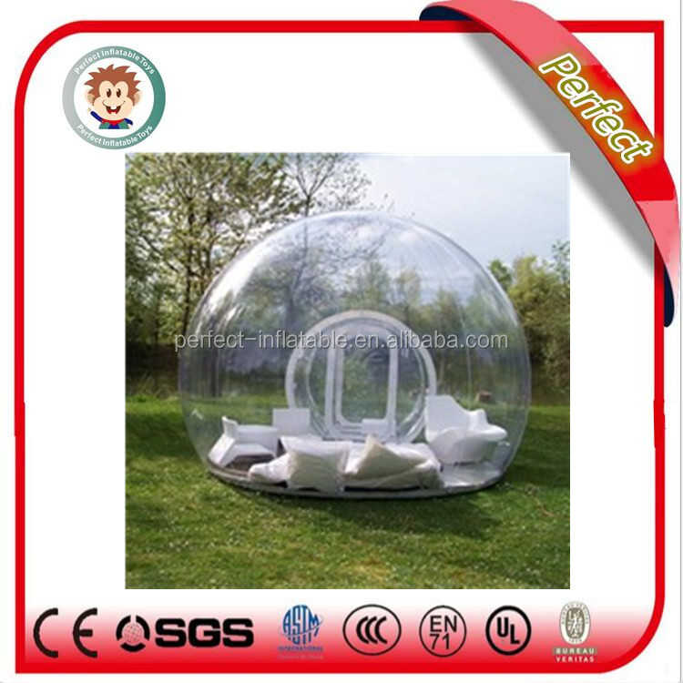 New design inflatable clear bubble tent, inflatable bubble camping tent