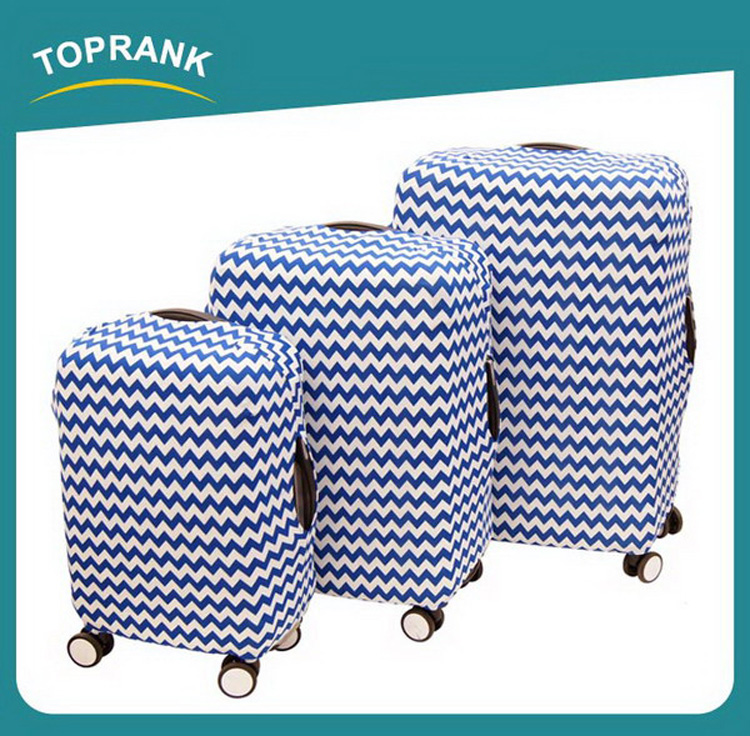 "TOPRANK free sample provide gift 24"" spandex luggage cover"