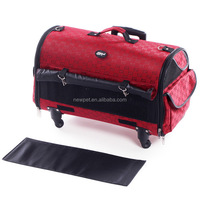 Quality assured wholesale newest functional trolley bag cage portable dog pet bag