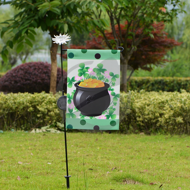 2017 Eco Friendly Garden Flag Stakes Wholesale Buy