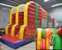 new design hot game Dual lane small zipline for fun inflatable games for party rentals commercial inflatale for rental