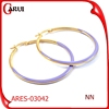 Fashion Earrings Wholesale Plain Design Hoop Earrings
