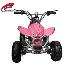 girls pink kids 36v mini 4 wheel atv quad bike changshun (CS-E9053)