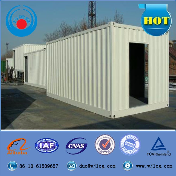 20ft 40ft flat pack pre-made luxury prefab container house for sale
