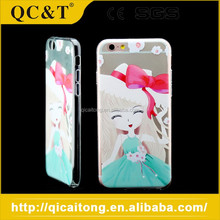 Low Price Ultra-thin Smartphone TPU Machine Print Shell Phone For Iphone 6S
