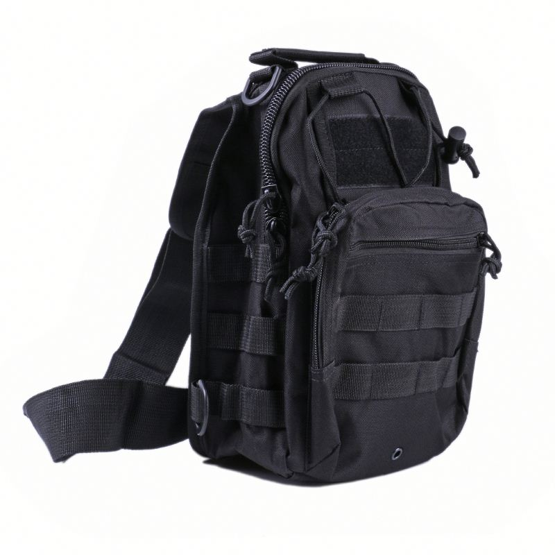 Shoulder army tactical bag ,amd01 Tactical Sling Pack Cross Body Bug Out Bag Military Style Shoulder Day Pack Backpack