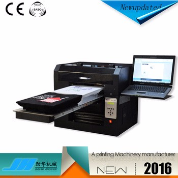 A3 8 color digital printing machine power-jet t-shirt printer used