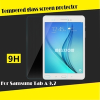 Unbreakable tempered for Samsung Galaxy Tab A 9.7 glass screen protector, bubble free for Samsung phone protector