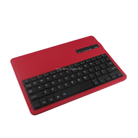 China factory supply book design tablet pc leather case with tablet keyboard