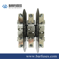 Barfuses 3P Slideway Installation Din Rail 400amp Blade Fuse Holder