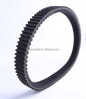 double sided raw edge variable speed drive belt