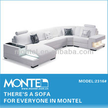 imported genuine leather chaise long remz sofa