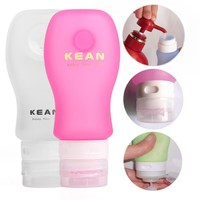 Travel Home Kitchen Bathroom Tube Silicone Squeezable Bottles Holders