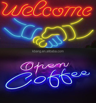 RGB LED NEON FLEX TUBE SIGNS FOR CHRISTMAS PARTY SUPPLIES