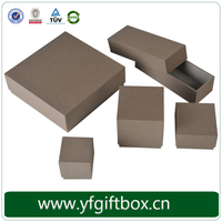 Grey Fancy Recycled Paper Boxes High Quality Cosmetic Boxes Wholesale Gift Box Luxury Design