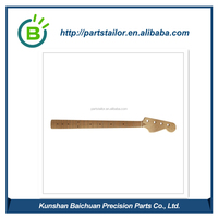 Kunshan manufacture CNC machining wood guitar neck BCR 0082