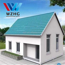 China gold supplier cheap light steel/eps panel prefab house