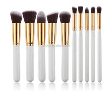 BIGGEST SIZE 205g 10pcs Makeup Brushes Tools Cosmetic Blender Makeup tools kit Foundation Face Powder Eye Shadow Eyebrow Brushes