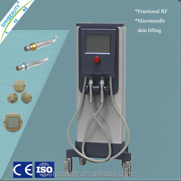 High and low speed handle/ fractional rf microneedle /Adjustable needle depth