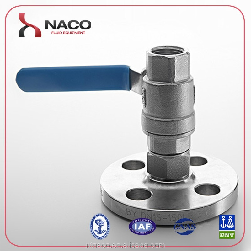 Stainless Steel Forged Flange Ball Valve For Natural Gas