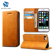 Stand Card PU Wallet Flip Leather Phone Cover Case For Samsung Galaxy S8 S8Plus iphone 6 6 plus 7 7 plus