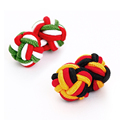 Custom Handmade Multi color mixed order Mens Silk Knot Cufflink