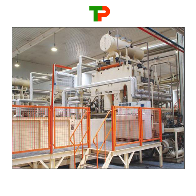 Short Cycle Lamination Hot-press/ Melamine Lamination Hot Press/ Automatic Short Cycle Lamination Line
