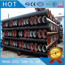 ISO2531/EN545/EN598 cement lined 8 inch ductile iron pipe with lowest price