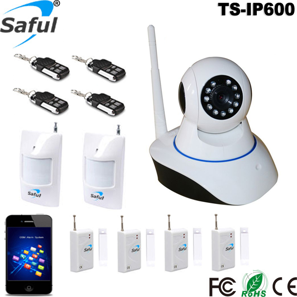 2016 Newest Two Way Intercom Mobile APP Remote Control 2CU HD Indoor Wireless IP Security CCTV Camera TS-IP600
