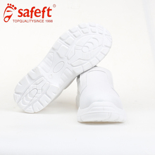 protective acid resistant nurses white food factory safety shoes