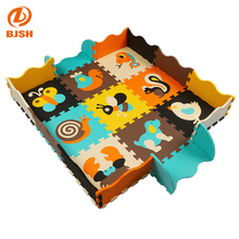wholesale 9 pieces of Waterproof EVA Blanket Puzzle Baby Playmats