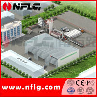 Applicable road construction asphalt mixing plant and related plants
