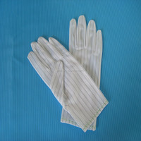 ESD gloves for microelectronic workshop