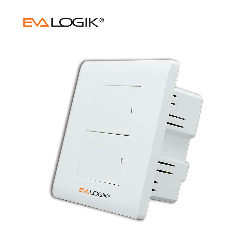 Wireless z-eave wall switch for smart home